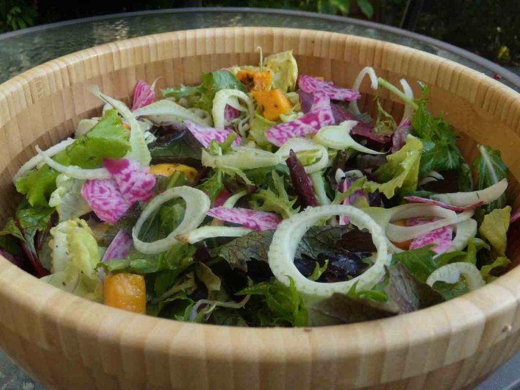 Bok-Choy-Fennel-Beet-Salad